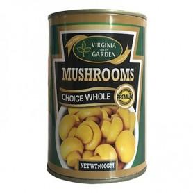 Virginia Green Garden Mushrooms Choice Whole 400g