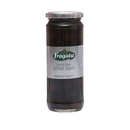 Faragata Spanish Olive Pitted Black 358ml