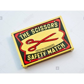 Scissor Safety Match 1*1000